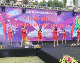 TIC celebrated Vietnamese Teachers' Day on November 20, 2018