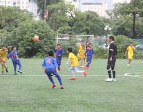 TIC ORGANIZED U12 FRIENDLY FOOTBALL MATCHES BETWEEN JAPANESE AND VIETNAMESE CLUBS