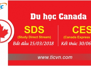STUDY IN CANADA UNDER SDS PROGRAM